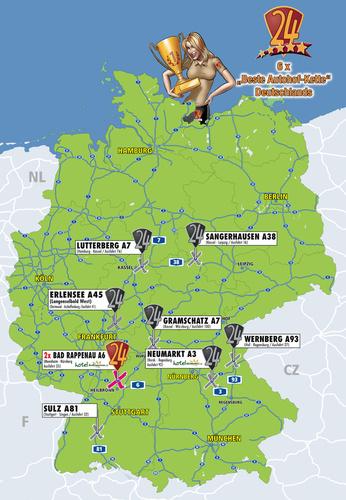 autohöfe deutschland karte Ihre Vorteile   Autohof Parken autohöfe deutschland karte